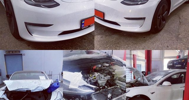 Кузовний ремонт Tesla Model 3