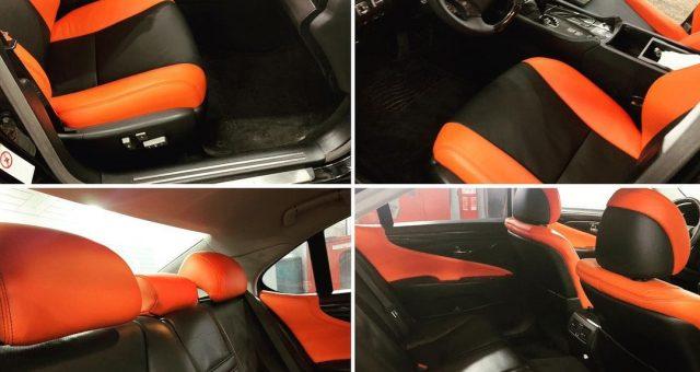 Перешивка салону Lexus LS460