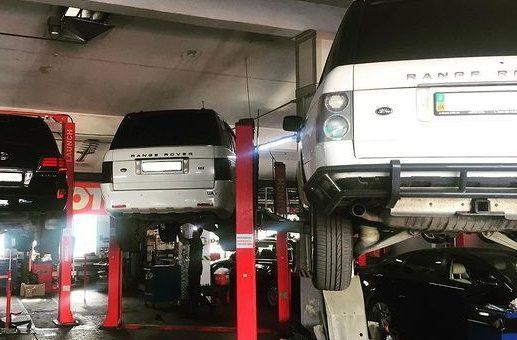 ТО RangeRover та Lexus LX570